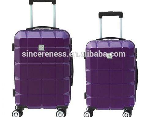 lightweight abs trolley spinner luggage