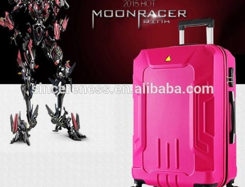 abs pc colorful polycarbonate suitcase