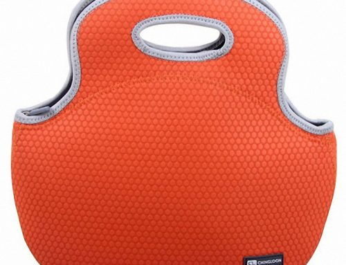 Insulated Neoprene Lunch Tote with Adjustable Handle lunch bag