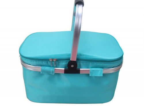 Aluminum Frame Collapsible Design for Easy Storage Collapsible Insulated Picnic Basket set