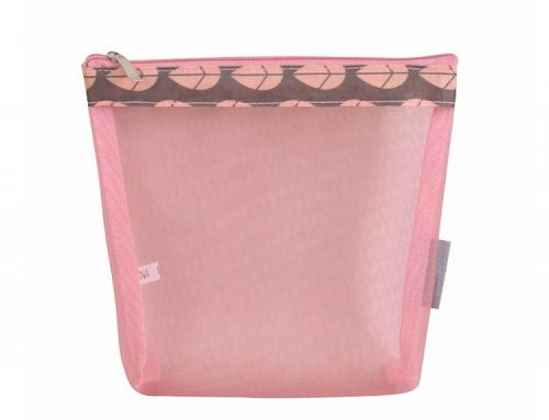 Cosmetic Pouch with mesh window